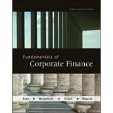 corporate finance third canadian edition solution manual