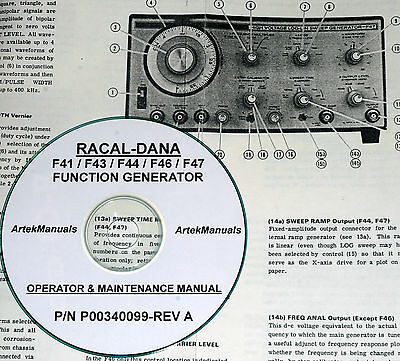 hp 3312a function generator service manual