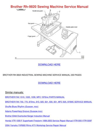brother hl-40c service manual