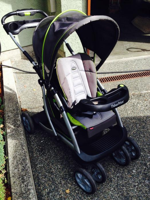 fisher price double stroller manual