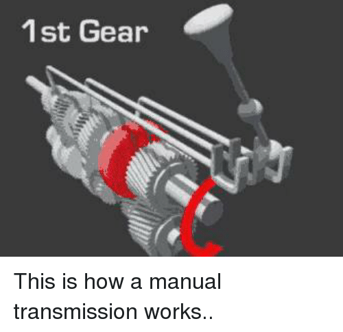 how work gears on manual transmission