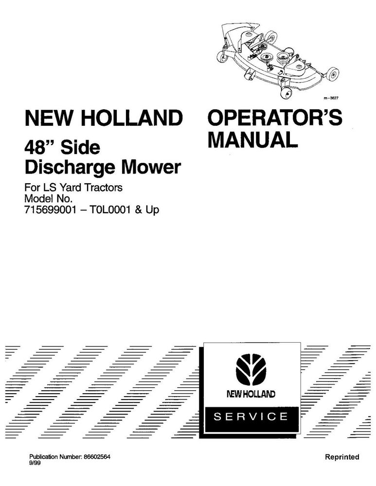 ls 35 tractor owner manual