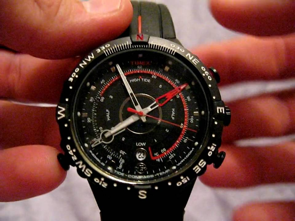 timex expedition tide temp compass watch manual